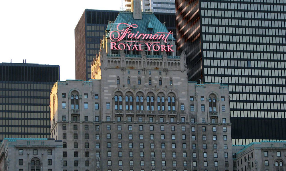 Fairmont Royal York Hotel, Toronto, Canada