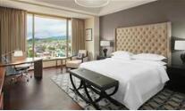 酒店套房家具-酒店客房床尾凳的作用及选购