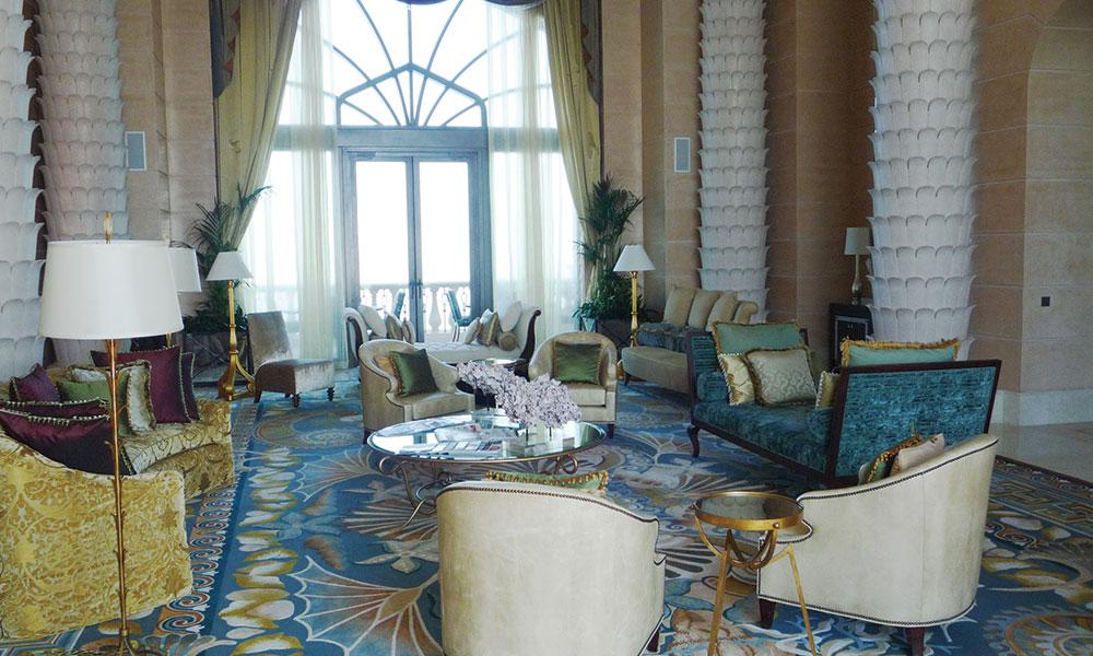 迪拜亚特兰蒂斯酒店大堂