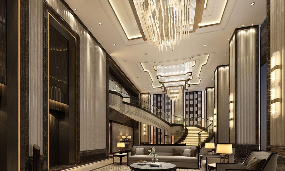 长沙运达瑞吉酒店大堂