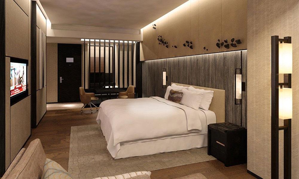 五星级酒店家具追求时尚,功能设计不遑多让