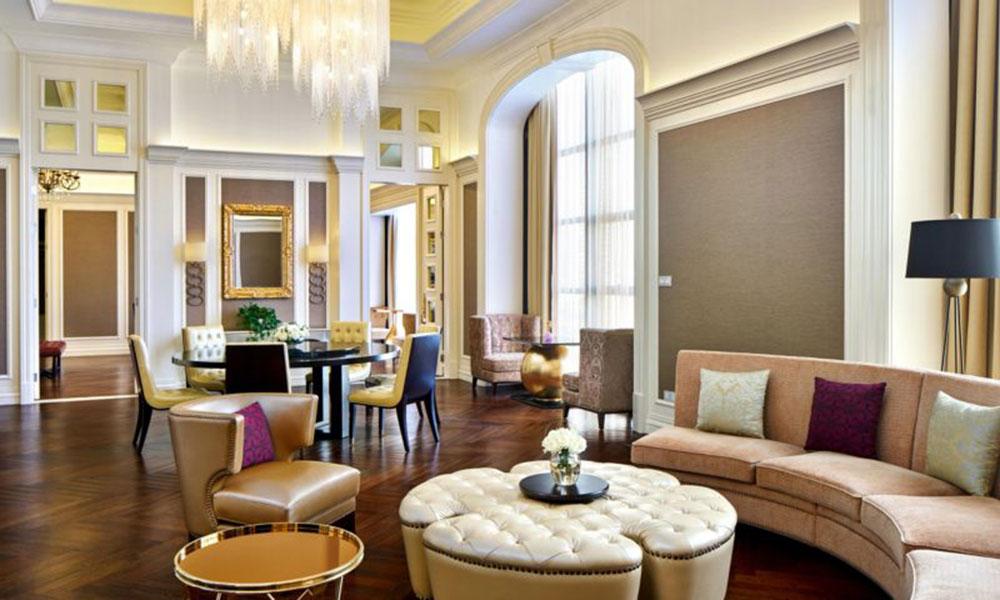 酒店套房家具摆放原则注意什么