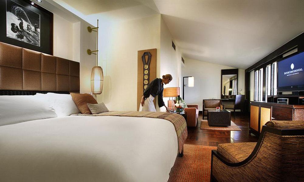 越南河内洲际酒店客房