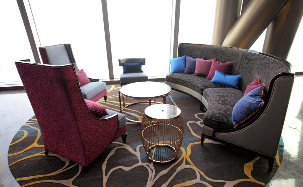咖啡厅酒店家具沙发 酒店家具定制