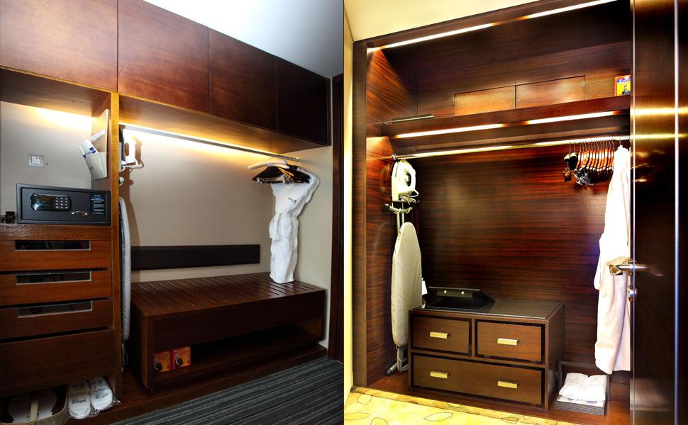 选择定实木定制衣柜需要注意的细节