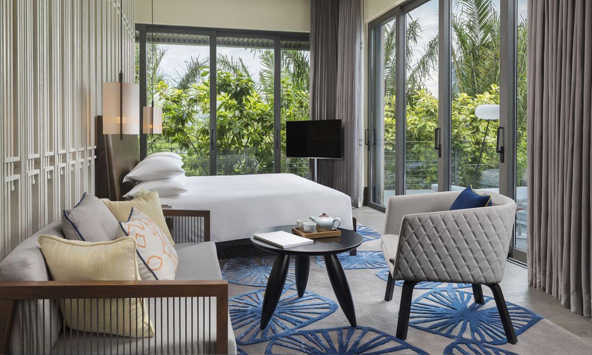 酒店套房家具十大品牌解说中式酒店如何设计?